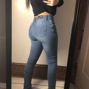 """Fashion Nova """"Lets Get Carried Away Jeans"""""""